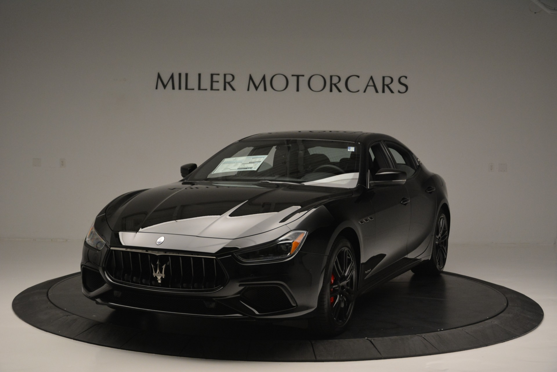 New 2018 Maserati Ghibli SQ4 GranSport Nerissimo for sale Sold at Rolls-Royce Motor Cars Greenwich in Greenwich CT 06830 1