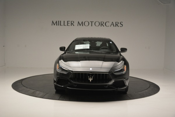 New 2018 Maserati Ghibli SQ4 GranSport Nerissimo for sale Sold at Rolls-Royce Motor Cars Greenwich in Greenwich CT 06830 12