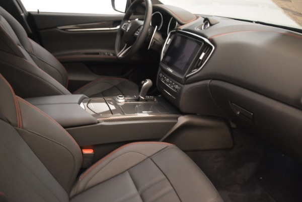 New 2018 Maserati Ghibli SQ4 GranSport Nerissimo for sale Sold at Rolls-Royce Motor Cars Greenwich in Greenwich CT 06830 16