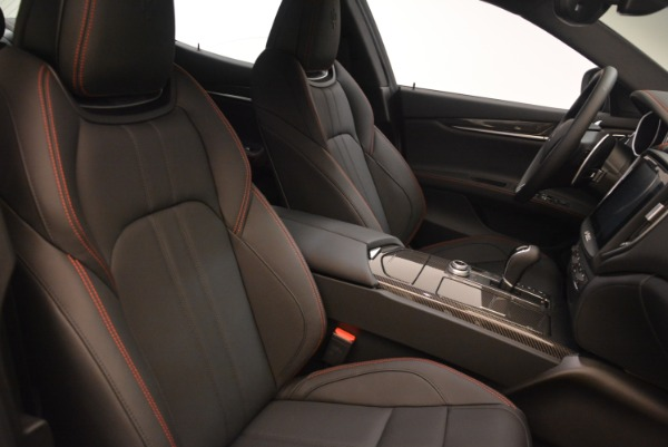 New 2018 Maserati Ghibli SQ4 GranSport Nerissimo for sale Sold at Rolls-Royce Motor Cars Greenwich in Greenwich CT 06830 18