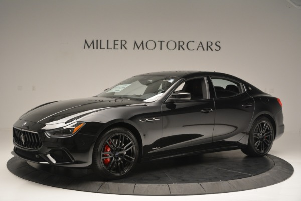 New 2018 Maserati Ghibli SQ4 GranSport Nerissimo for sale Sold at Rolls-Royce Motor Cars Greenwich in Greenwich CT 06830 2