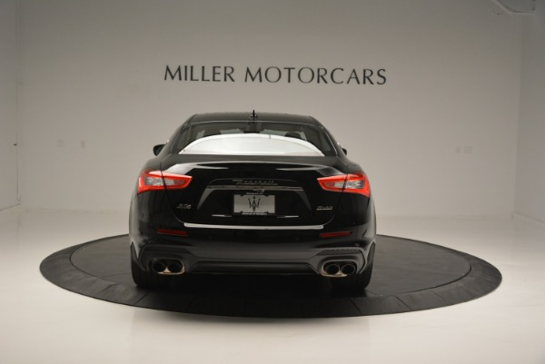 New 2018 Maserati Ghibli SQ4 GranSport Nerissimo for sale Sold at Rolls-Royce Motor Cars Greenwich in Greenwich CT 06830 6