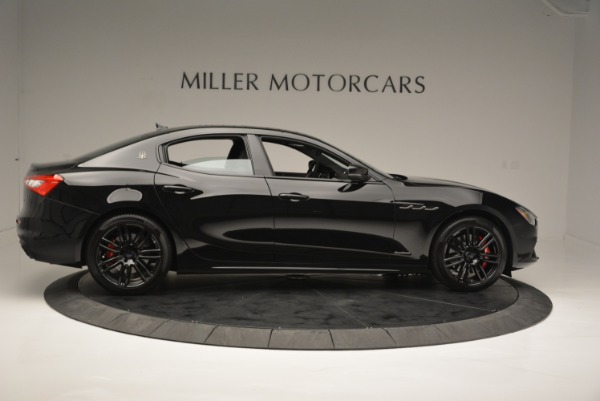 New 2018 Maserati Ghibli SQ4 GranSport Nerissimo for sale Sold at Rolls-Royce Motor Cars Greenwich in Greenwich CT 06830 9