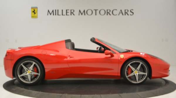 Used 2015 Ferrari 458 Spider for sale Sold at Rolls-Royce Motor Cars Greenwich in Greenwich CT 06830 10