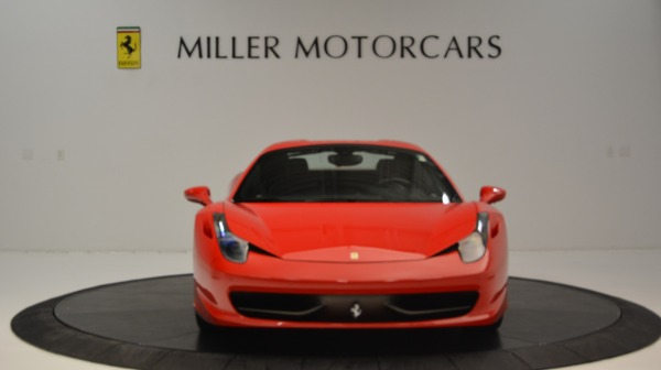 Used 2015 Ferrari 458 Spider for sale Sold at Rolls-Royce Motor Cars Greenwich in Greenwich CT 06830 25