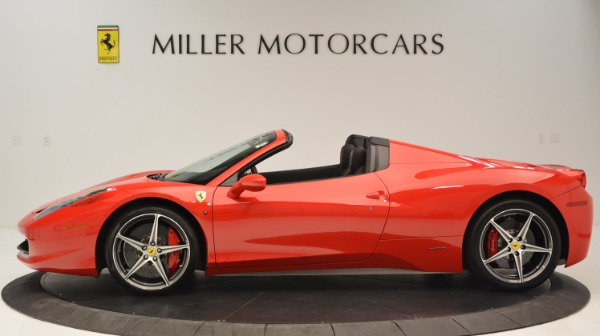 Used 2015 Ferrari 458 Spider for sale Sold at Rolls-Royce Motor Cars Greenwich in Greenwich CT 06830 4