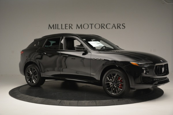New 2018 Maserati Levante S Q4 GranSport Nerissimo for sale Sold at Rolls-Royce Motor Cars Greenwich in Greenwich CT 06830 10