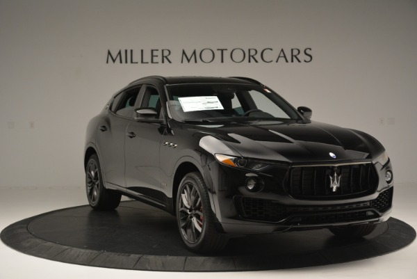 New 2018 Maserati Levante S Q4 GranSport Nerissimo for sale Sold at Rolls-Royce Motor Cars Greenwich in Greenwich CT 06830 11