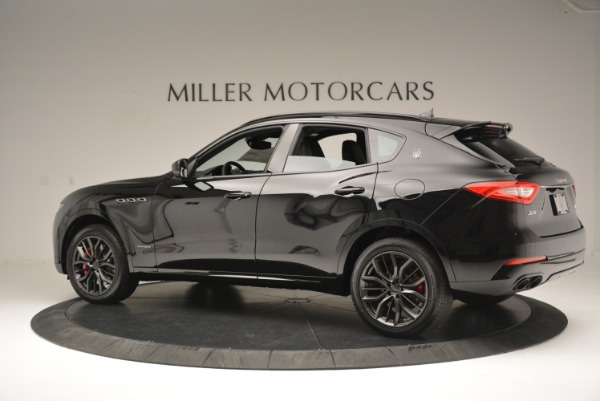 New 2018 Maserati Levante S Q4 GranSport Nerissimo for sale Sold at Rolls-Royce Motor Cars Greenwich in Greenwich CT 06830 4