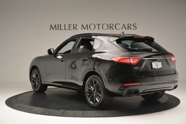 New 2018 Maserati Levante S Q4 GranSport Nerissimo for sale Sold at Rolls-Royce Motor Cars Greenwich in Greenwich CT 06830 5
