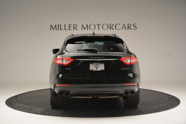 New 2018 Maserati Levante S Q4 GranSport Nerissimo for sale Sold at Rolls-Royce Motor Cars Greenwich in Greenwich CT 06830 6