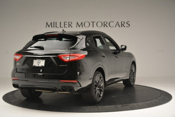 New 2018 Maserati Levante S Q4 GranSport Nerissimo for sale Sold at Rolls-Royce Motor Cars Greenwich in Greenwich CT 06830 7