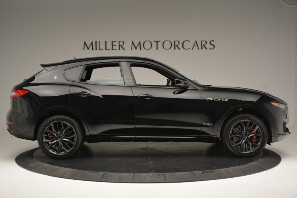New 2018 Maserati Levante S Q4 GranSport Nerissimo for sale Sold at Rolls-Royce Motor Cars Greenwich in Greenwich CT 06830 9