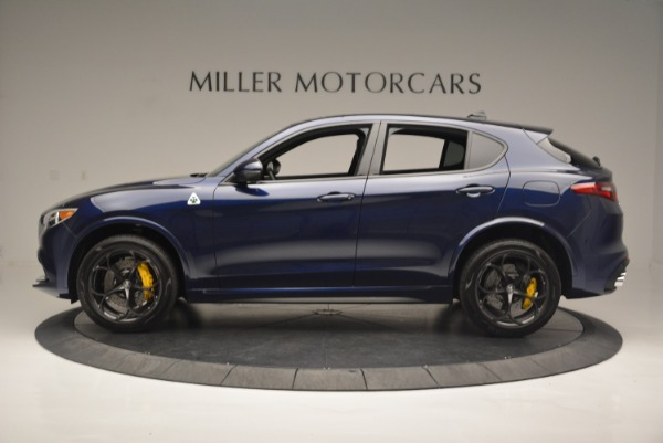 New 2018 Alfa Romeo Stelvio Quadrifoglio for sale Sold at Rolls-Royce Motor Cars Greenwich in Greenwich CT 06830 3