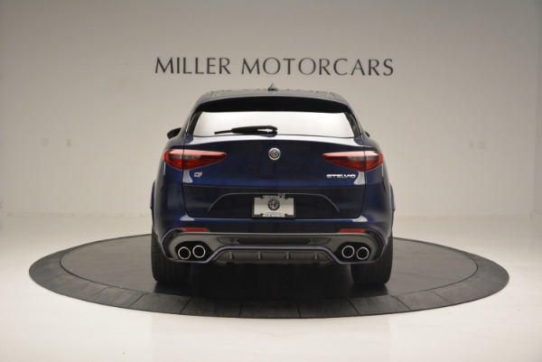New 2018 Alfa Romeo Stelvio Quadrifoglio for sale Sold at Rolls-Royce Motor Cars Greenwich in Greenwich CT 06830 6