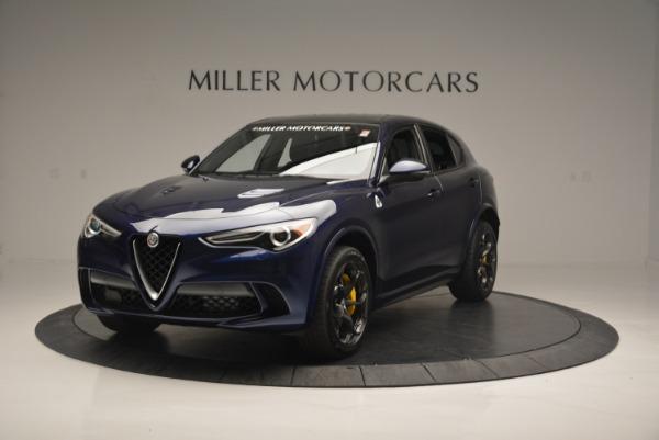 New 2018 Alfa Romeo Stelvio Quadrifoglio for sale Sold at Rolls-Royce Motor Cars Greenwich in Greenwich CT 06830 1
