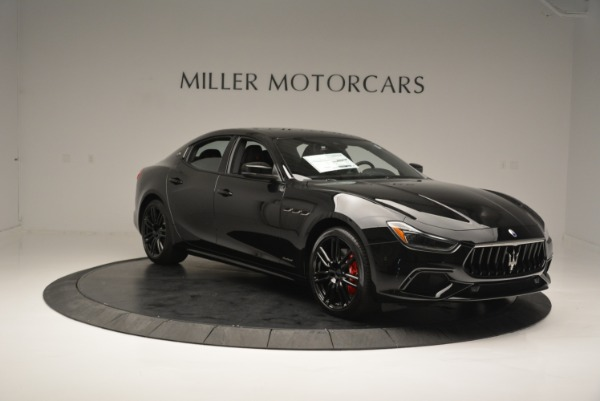 New 2018 Maserati Ghibli SQ4 GranSport Nerissimo for sale Sold at Rolls-Royce Motor Cars Greenwich in Greenwich CT 06830 11