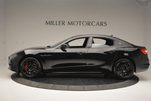 New 2018 Maserati Ghibli SQ4 GranSport Nerissimo for sale Sold at Rolls-Royce Motor Cars Greenwich in Greenwich CT 06830 3