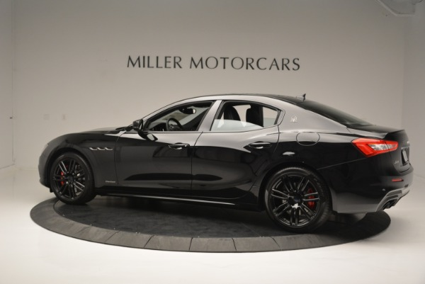 New 2018 Maserati Ghibli SQ4 GranSport Nerissimo for sale Sold at Rolls-Royce Motor Cars Greenwich in Greenwich CT 06830 4