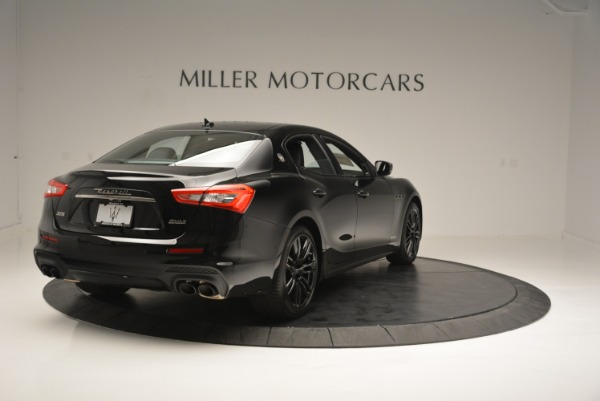 New 2018 Maserati Ghibli SQ4 GranSport Nerissimo for sale Sold at Rolls-Royce Motor Cars Greenwich in Greenwich CT 06830 7