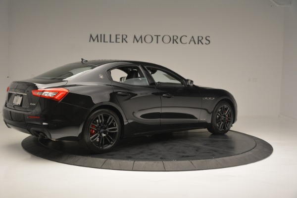 New 2018 Maserati Ghibli SQ4 GranSport Nerissimo for sale Sold at Rolls-Royce Motor Cars Greenwich in Greenwich CT 06830 8