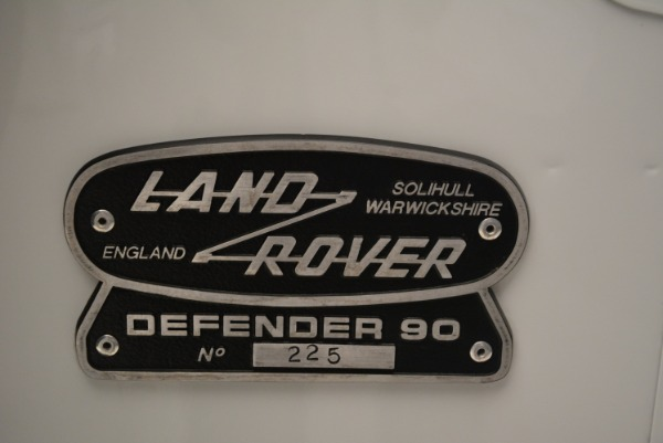 Used 1994 Land Rover Defender 130 Himalaya for sale Sold at Rolls-Royce Motor Cars Greenwich in Greenwich CT 06830 23