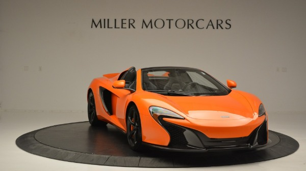 Used 2015 McLaren 650S Spider Convertible for sale Sold at Rolls-Royce Motor Cars Greenwich in Greenwich CT 06830 11