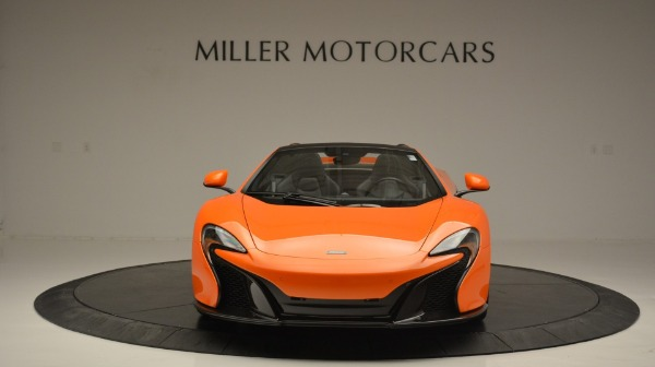 Used 2015 McLaren 650S Spider Convertible for sale Sold at Rolls-Royce Motor Cars Greenwich in Greenwich CT 06830 12