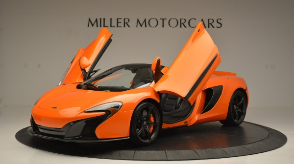 Used 2015 McLaren 650S Spider Convertible for sale Sold at Rolls-Royce Motor Cars Greenwich in Greenwich CT 06830 14