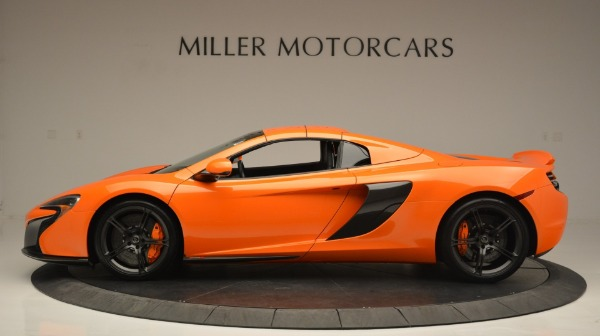 Used 2015 McLaren 650S Spider Convertible for sale Sold at Rolls-Royce Motor Cars Greenwich in Greenwich CT 06830 16