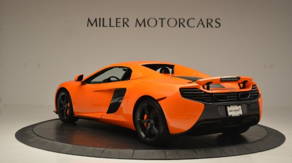 Used 2015 McLaren 650S Spider Convertible for sale Sold at Rolls-Royce Motor Cars Greenwich in Greenwich CT 06830 17