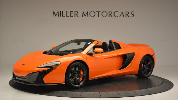 Used 2015 McLaren 650S Spider Convertible for sale Sold at Rolls-Royce Motor Cars Greenwich in Greenwich CT 06830 2