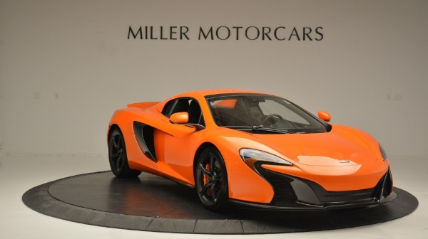 Used 2015 McLaren 650S Spider Convertible for sale Sold at Rolls-Royce Motor Cars Greenwich in Greenwich CT 06830 21