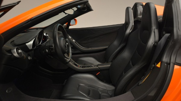 Used 2015 McLaren 650S Spider Convertible for sale Sold at Rolls-Royce Motor Cars Greenwich in Greenwich CT 06830 22