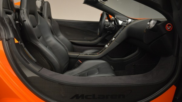 Used 2015 McLaren 650S Spider Convertible for sale Sold at Rolls-Royce Motor Cars Greenwich in Greenwich CT 06830 26