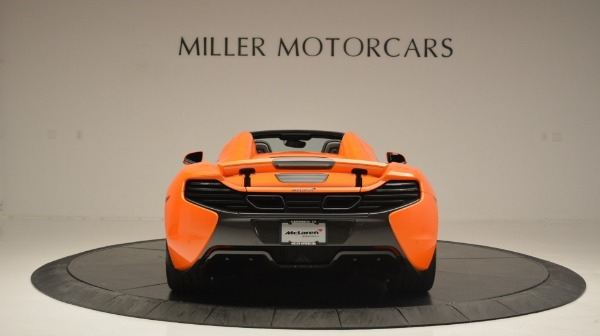 Used 2015 McLaren 650S Spider Convertible for sale Sold at Rolls-Royce Motor Cars Greenwich in Greenwich CT 06830 6