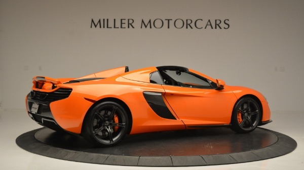 Used 2015 McLaren 650S Spider Convertible for sale Sold at Rolls-Royce Motor Cars Greenwich in Greenwich CT 06830 8