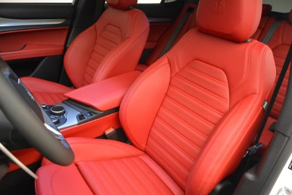 New 2018 Alfa Romeo Stelvio Ti Sport Q4 for sale Sold at Rolls-Royce Motor Cars Greenwich in Greenwich CT 06830 15