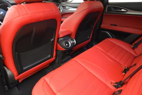 New 2018 Alfa Romeo Stelvio Ti Sport Q4 for sale Sold at Rolls-Royce Motor Cars Greenwich in Greenwich CT 06830 19