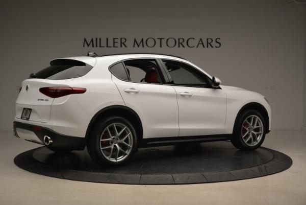 New 2018 Alfa Romeo Stelvio Ti Sport Q4 for sale Sold at Rolls-Royce Motor Cars Greenwich in Greenwich CT 06830 8