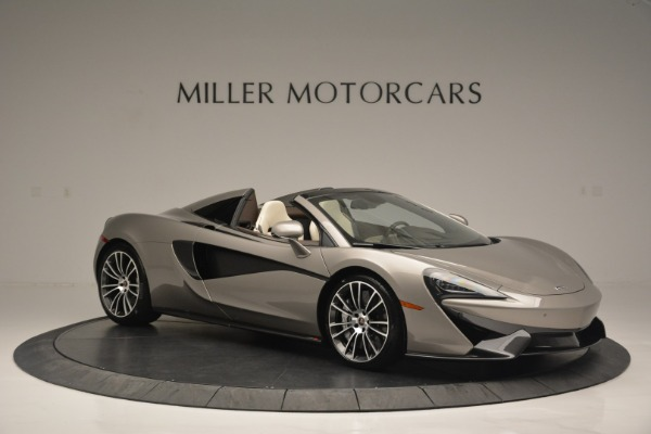 New 2018 McLaren 570S Spider for sale Sold at Rolls-Royce Motor Cars Greenwich in Greenwich CT 06830 10
