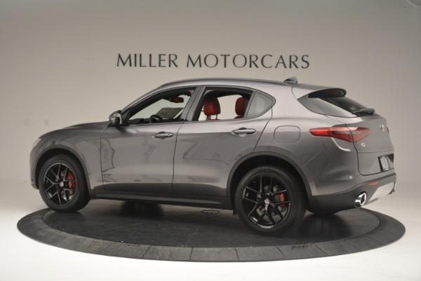 New 2018 Alfa Romeo Stelvio Ti Sport Q4 for sale Sold at Rolls-Royce Motor Cars Greenwich in Greenwich CT 06830 4