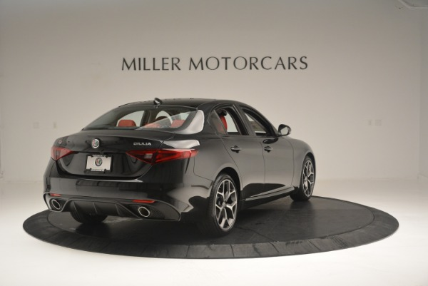 New 2018 Alfa Romeo Giulia Ti Sport Q4 for sale Sold at Rolls-Royce Motor Cars Greenwich in Greenwich CT 06830 7