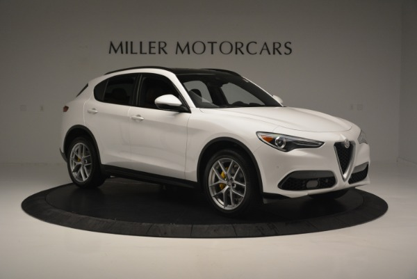 Used 2018 Alfa Romeo Stelvio Ti Sport Q4 for sale $36,900 at Rolls-Royce Motor Cars Greenwich in Greenwich CT 06830 11