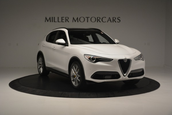 Used 2018 Alfa Romeo Stelvio Ti Sport Q4 for sale $36,900 at Rolls-Royce Motor Cars Greenwich in Greenwich CT 06830 12