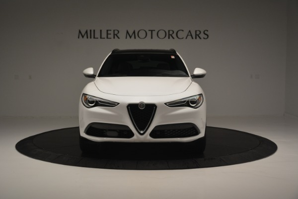 Used 2018 Alfa Romeo Stelvio Ti Sport Q4 for sale $36,900 at Rolls-Royce Motor Cars Greenwich in Greenwich CT 06830 13