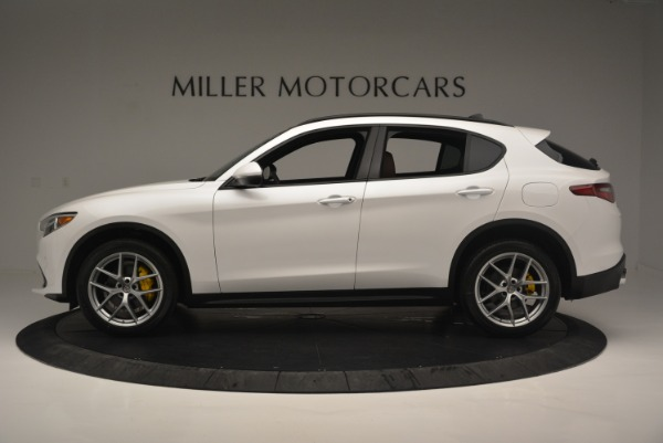 Used 2018 Alfa Romeo Stelvio Ti Sport Q4 for sale $36,900 at Rolls-Royce Motor Cars Greenwich in Greenwich CT 06830 3