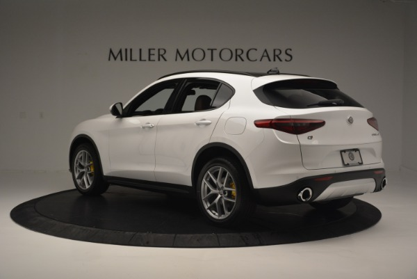 Used 2018 Alfa Romeo Stelvio Ti Sport Q4 for sale $36,900 at Rolls-Royce Motor Cars Greenwich in Greenwich CT 06830 5