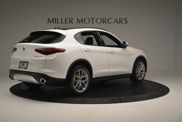 Used 2018 Alfa Romeo Stelvio Ti Sport Q4 for sale $36,900 at Rolls-Royce Motor Cars Greenwich in Greenwich CT 06830 8