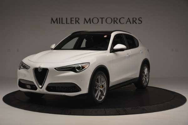 Used 2018 Alfa Romeo Stelvio Ti Sport Q4 for sale $36,900 at Rolls-Royce Motor Cars Greenwich in Greenwich CT 06830 1